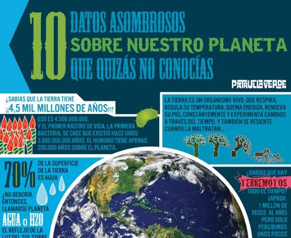 infografia del planeta