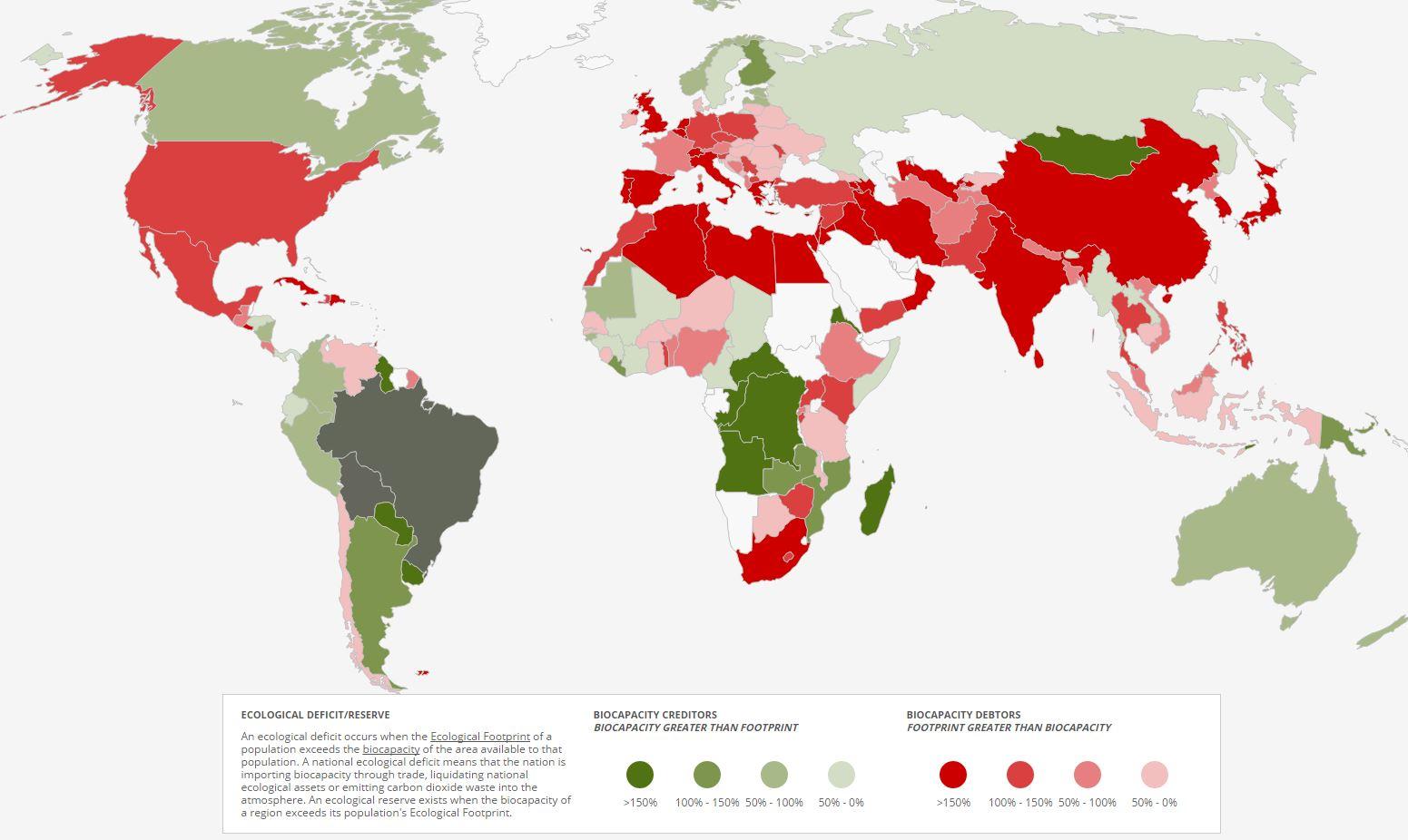 biocapacidad tierra