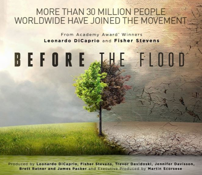 documental cambio climatico before the food