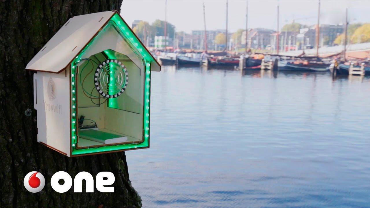 wifi gratis por cuidar el planeta