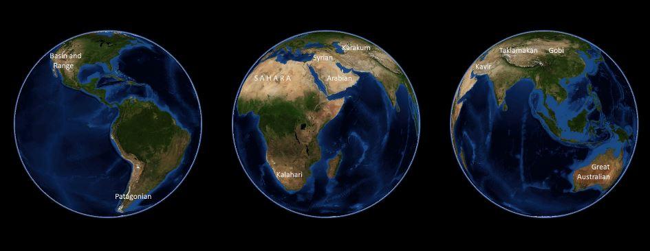 mayores desiertos del mundo