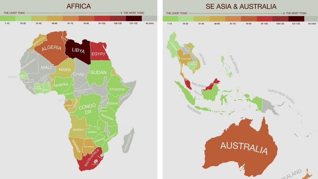 contaminacion africa